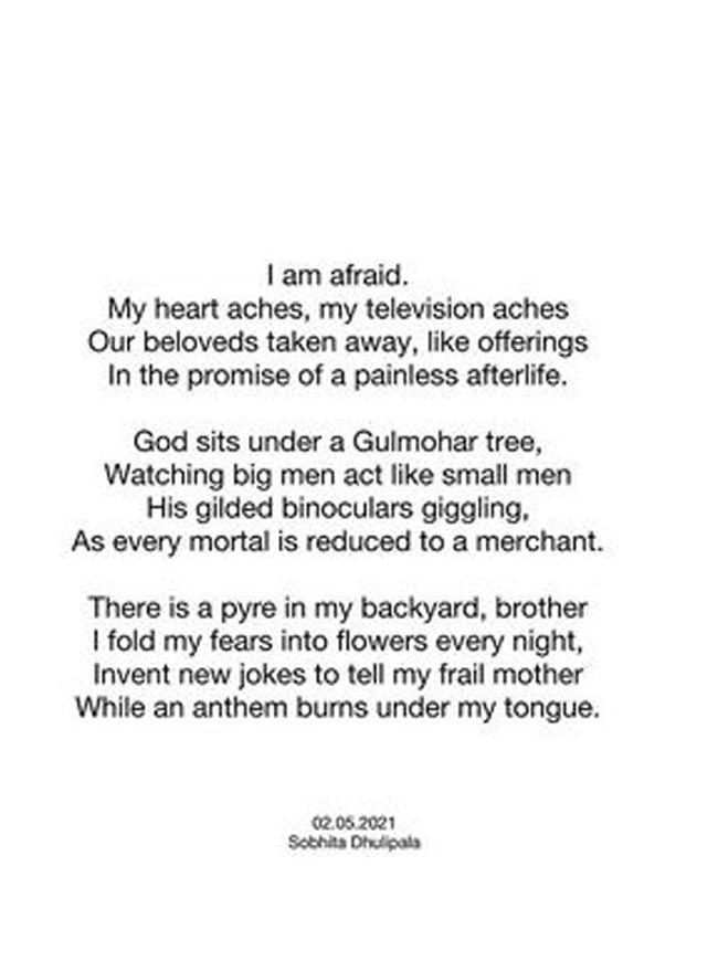 A spy girl files a poem on covid Vilayam