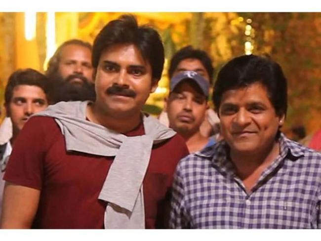 Ali in Pawan movie .. still friends!