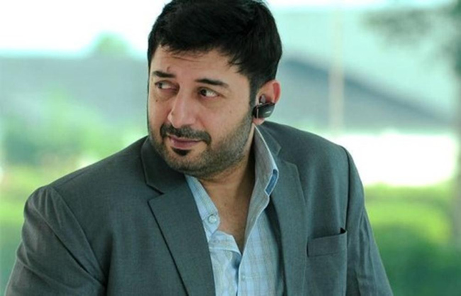 Arvind Swamy as the villain in NTR movie