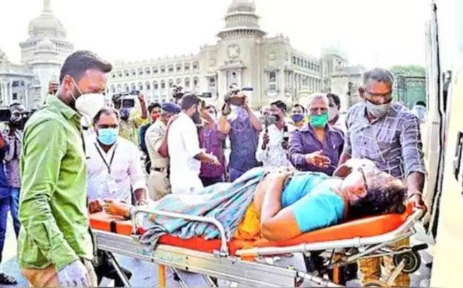 Beds shortage in Karnataka