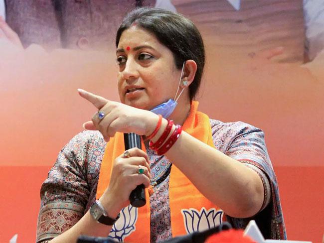 Bengal BJP hands over to Smriti Irani