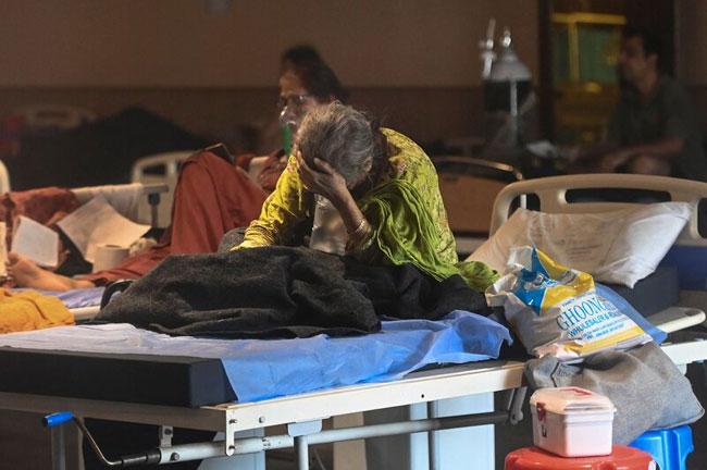 Bodies were manipulated in covid ward