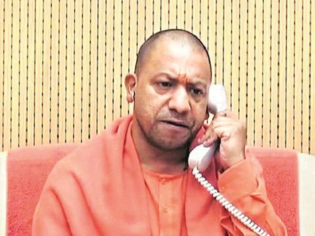 CM Yogi threatened with death