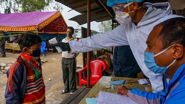 Corona virus outbreak in Nepal