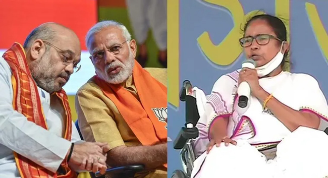Did 'Didi' party win a solid victory with Modi, Shah over action?
