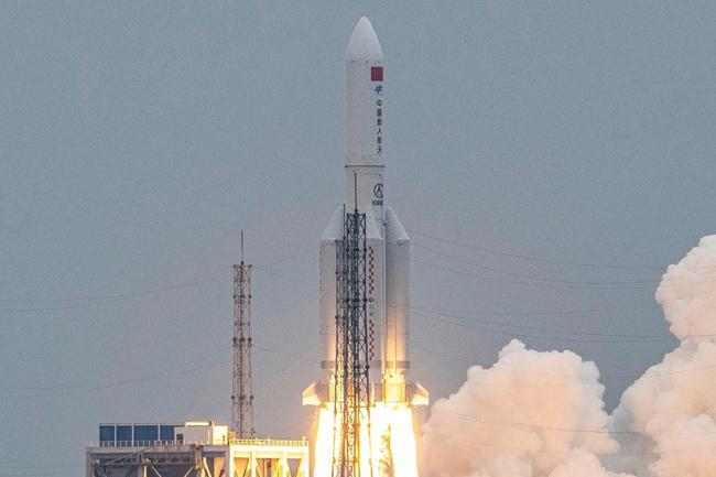 Fallen China Rocket .. Breathtaking World!