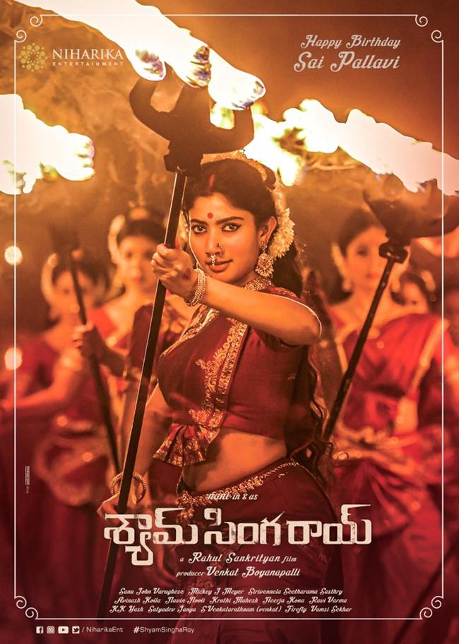 First look: Sai Pallavi wearing a glowing trident