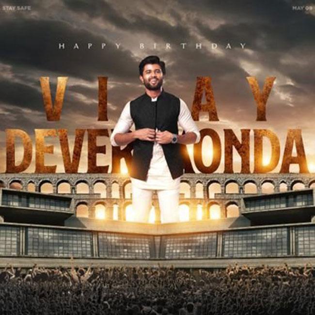 Happy Birthday Vijay Devara Konda From Tupaki Team
