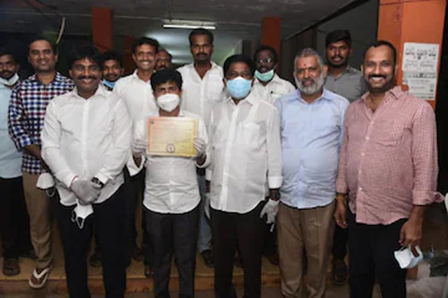 His assets were valued at Rs. 10 lakhs too? However, the victory as Tirupati MP