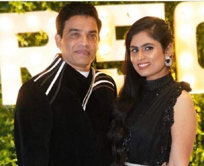 Is that why Dil Raju traveled to America with wife