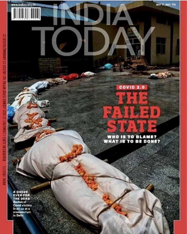 RGV sensational post with India Today cover story