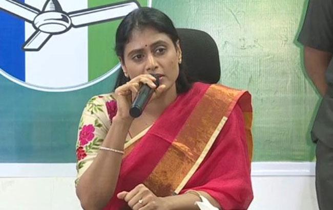 Sharmila did not succeed politically in Telangana