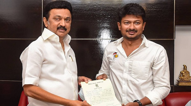 Udayanidhi Stalin into Stalin's cabinet