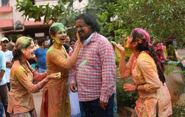 Venu Sriram Holi Celebrations