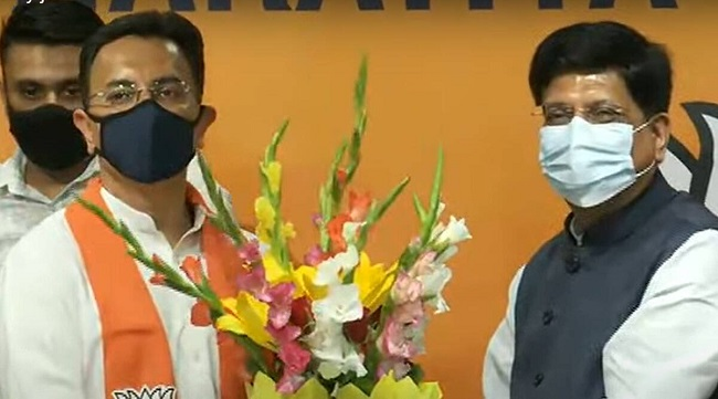 Ahead of the UP elections a High profile Congress leader joins BJP