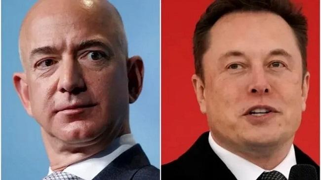 Bezos and Elon Musk are also friends of Vijayamalya