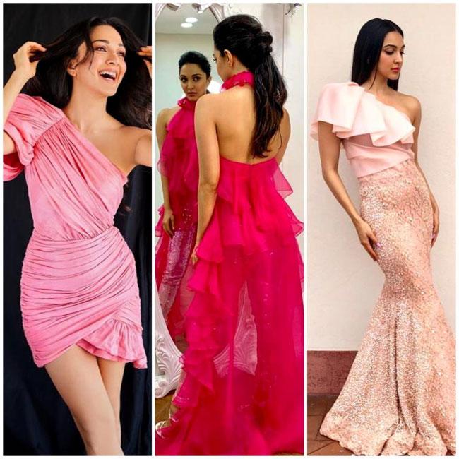 Kiara Advani Exquisite Looks In Pink