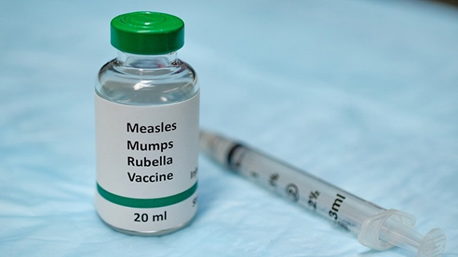 Measles vaccine Protecting children from corona!