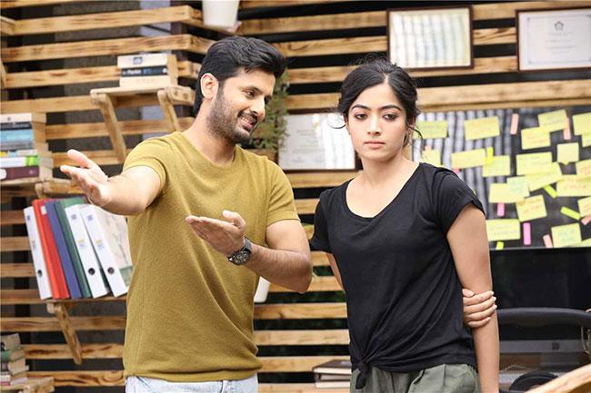 Rashmika Mandanna To Romance Nithin