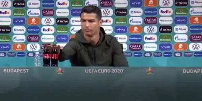Ronaldo Vs Coke Bottle This Is The Original Story