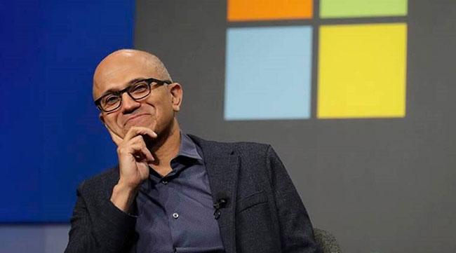Satya Nadella as Chairman of Microsoft
