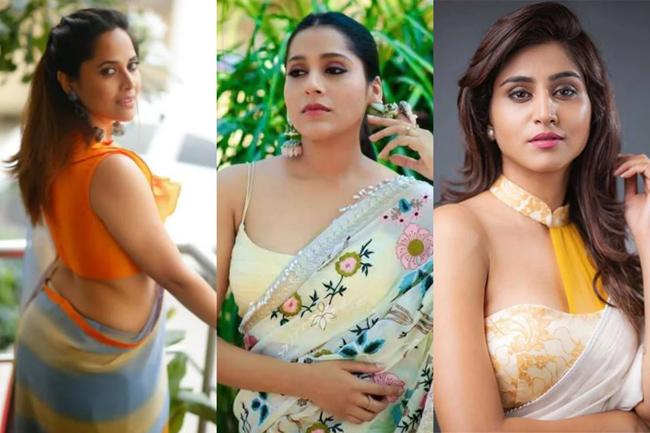 Telugu Glamorous Anchors Web Series on screen .. ??
