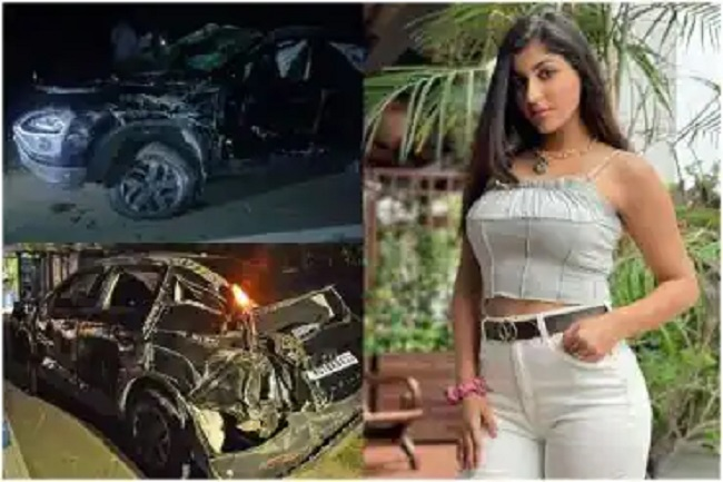 Actor Yashika is Critical After Severe Injury in Car Accident
