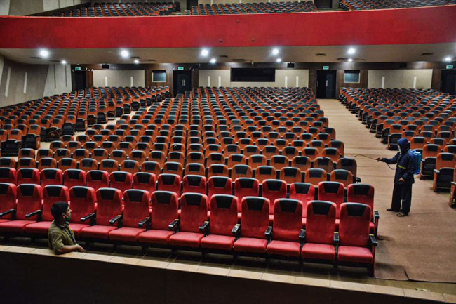 All the theaters in the country are reopened but why in AP