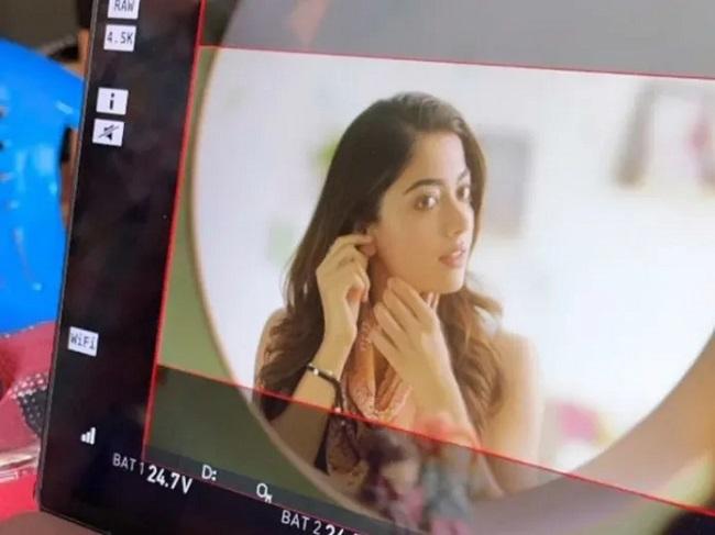 Beautiful Rashmika From The Sets Of AMJ