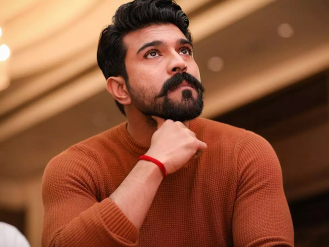 Charan is the only one in the Indian film industry