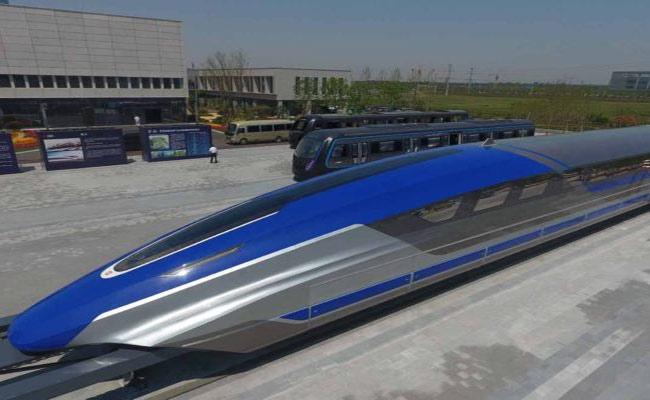 China Launches Super High Speed Train Maglev