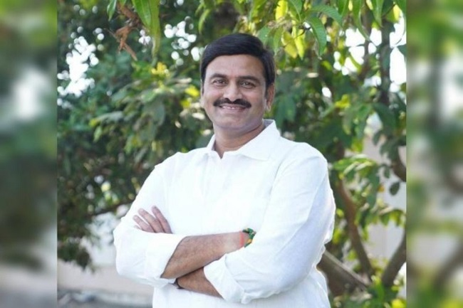 Disqualification on Raghuram Krishnam Raju