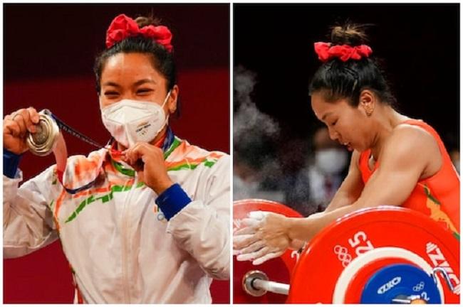 Gold medal for Mirabai Chanu