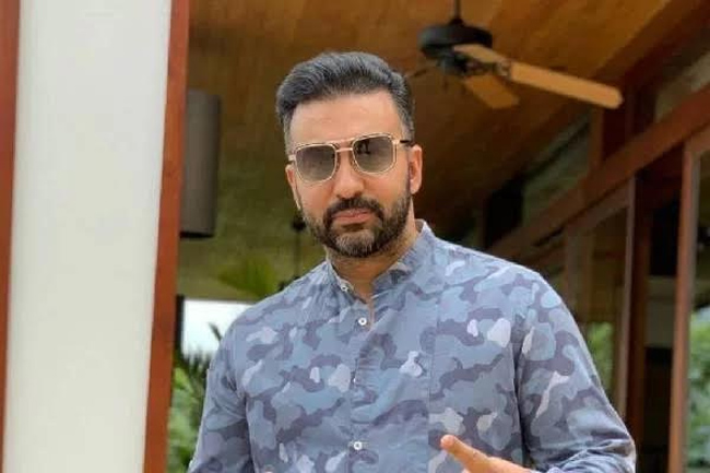 How many years is the sentence if the Raj Kundra case is proved?