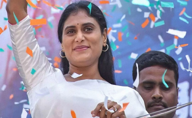 YSRTP Sharmila Reddy Gets Trolled  On Social Media For These Comments