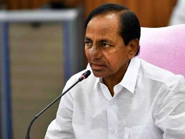 KCR spoke out desperately over the criticism