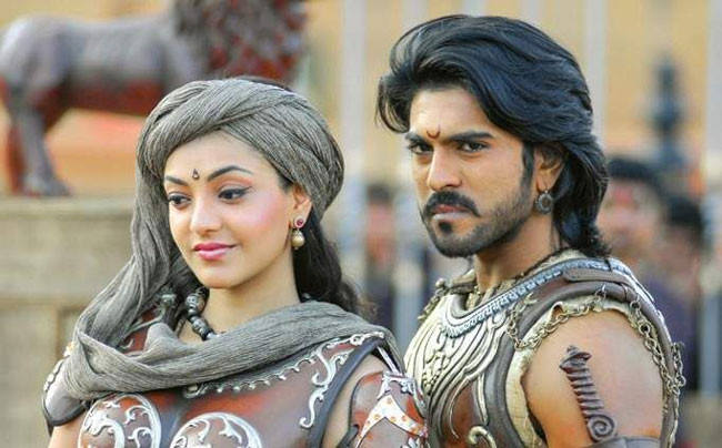 Magadheera is a movie that has grossed over 100 crores