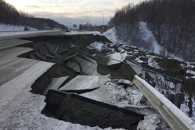 Massive earthquake in Alaska