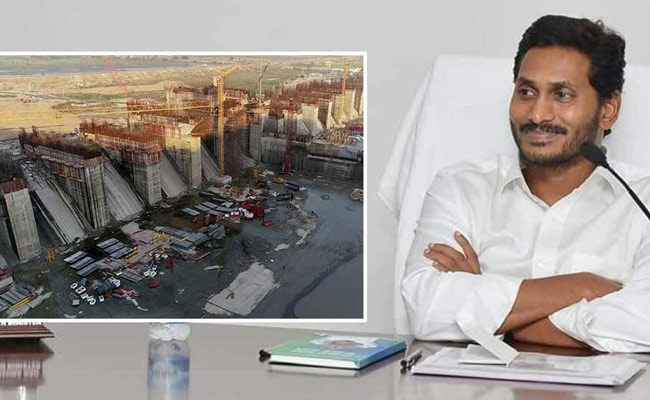 AP government is working hard to complete the Polavaram project on time