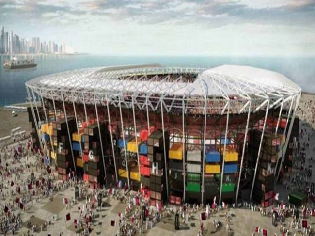 Qatar Strange Football Stadium Highlights