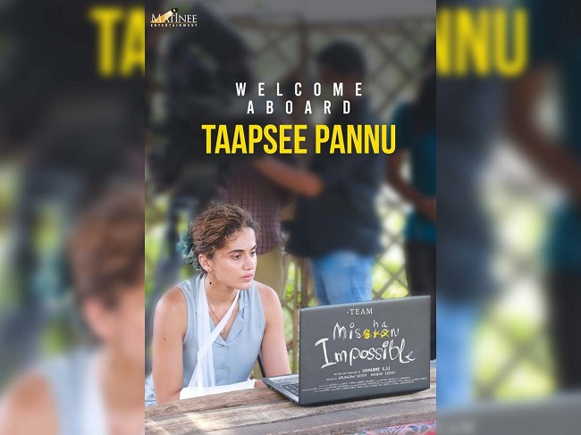 Tapsee Role in Mishan Impossible Revealed