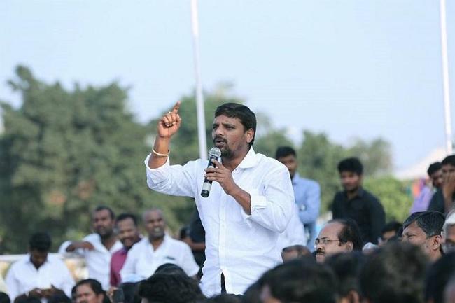 Teenmar Mallanna comments on sharmila