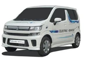 The Maruti charging car was coming
