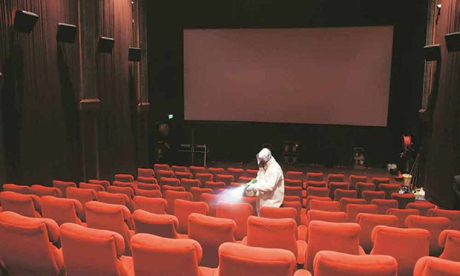 The good news: How many cinema halls will open in Telangana in two days?