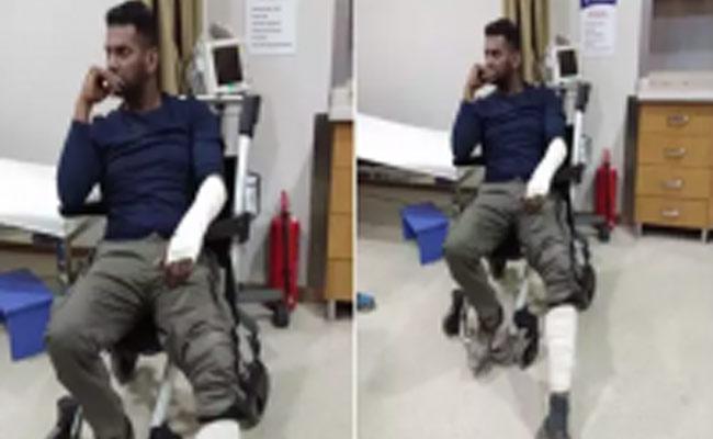 Vishal injured in new movie shooting