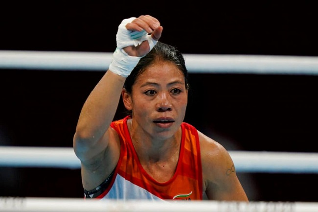 mary kom out of the Olympics