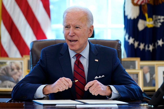 Biden opens a new tradition