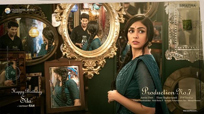 Introducing Mrunal Thakur as Sita