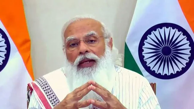 Modi who seduced the people of the country with a single shot
