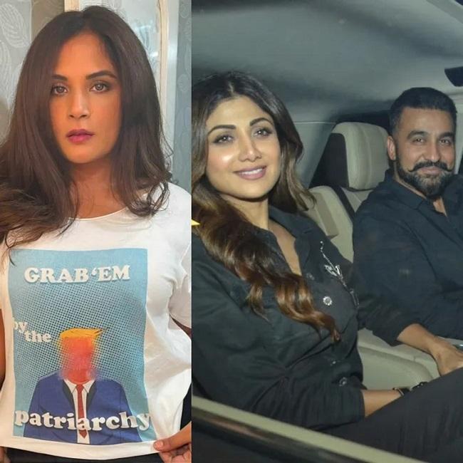 Richa Chadha backs Shilpa Shetty
